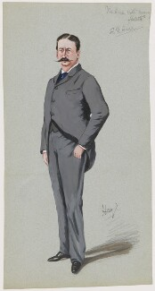 Probably Augustus John Cuthbert Hare, by 'Hay' - NPG D21568