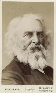 Henry Wadsworth Longfellow, by Elliott & Fry - NPG Ax18221