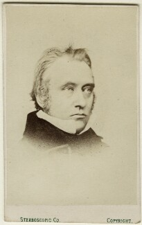Thomas Babington Macaulay, Baron Macaulay, by London Stereoscopic & Photographic Company - NPG Ax18324
