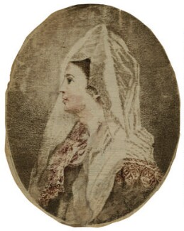 Ann Cargill (née Brown) as Clara in 'The Duenna', probably published by J. Walker, after  Matthew William Peters - NPG D21566