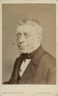 Sir George Biddell Airy, by John Watkins, 1860s - NPG Ax18332 - © National Portrait Gallery, London