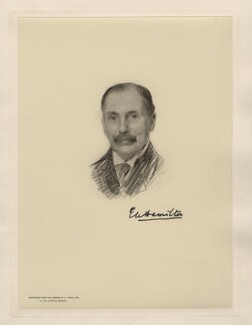 Eddy Hamilton, by The Autotype Company, after  Emil Fuchs - NPG D20834