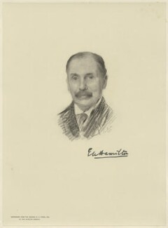 Eddy Hamilton, by The Autotype Company, after  Emil Fuchs - NPG D21573