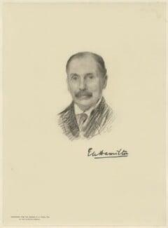 Eddy Hamilton, by The Autotype Company, after  Emil Fuchs - NPG D21573