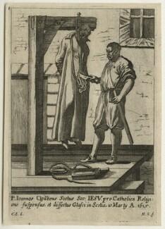 John Ogilvie, by M.K., after  C.S., 1615 - NPG D21441 - © National Portrait Gallery, London