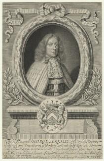 George Berkeley, 1st Earl of Berkeley, by David Loggan - NPG D21578