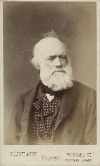 Sir Charles Lyell, 1st Bt, by Elliott & Fry - NPG Ax18342