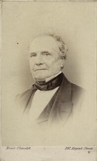 Charles Babbage, by Henri Claudet - NPG Ax18347