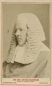 Colin Blackburn, Baron Blackburn of Killearn, by London Stereoscopic & Photographic Company - NPG Ax18359