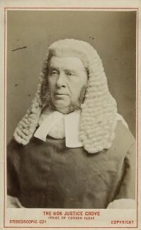 Sir William Robert Grove, by London Stereoscopic & Photographic Company - NPG Ax18360