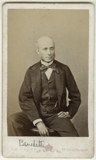 Vincent Benedetti, Count Benedetti, by Augustin Aimé Joseph Le Jeune - NPG Ax18367