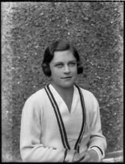 Mary Cartwright Heeley, by Bassano Ltd - NPG x124932