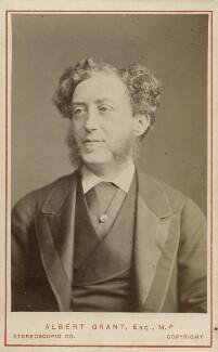 Albert Grant, Baron Grant (né Abraham Gottheimer), by London Stereoscopic & Photographic Company - NPG Ax18382