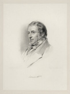 Robert Monsey Rolfe, Baron Cranworth, by William Holl Jr, after  George Richmond - NPG D20673