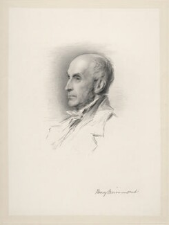 Henry Drummond, by William Holl Jr, after  George Richmond - NPG D20675