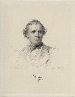 Edward Henry Stanley, 15th Earl of Derby, by William Holl Jr, after  George Richmond - NPG D20680