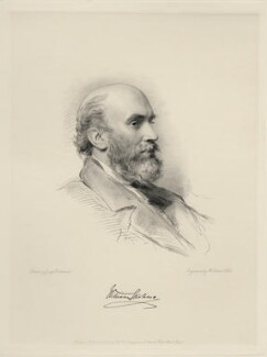 Sir William Stirling-Maxwell, 9th Bt, by William Holl Jr, after  George Richmond - NPG D20682