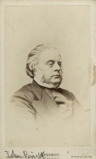 John Bright, by Robert White Thrupp - NPG Ax18242