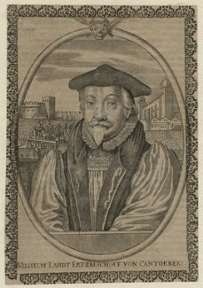 William Laud, by Unknown engraver - NPG D21584