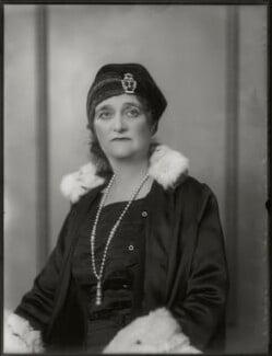 Blanche Alice Murray (née Scott), Viscountess Elibank, by Bassano Ltd, 24 October 1930 - NPG x124964 - © National Portrait Gallery, London