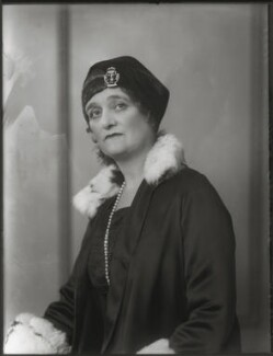 Blanche Alice Murray (née Scott), Viscountess Elibank, by Bassano Ltd, 24 October 1930 - NPG x124965 - © National Portrait Gallery, London