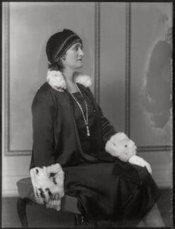 Blanche Alice Murray (née Scott), Viscountess Elibank, by Bassano Ltd, 24 October 1930 - NPG x124966 - © National Portrait Gallery, London