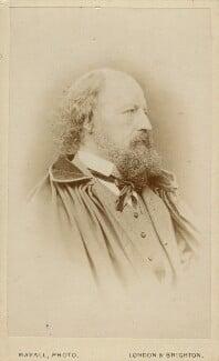 Alfred, Lord Tennyson, by John Jabez Edwin Mayall - NPG Ax18247