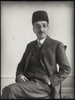 Sir Mirza Muhammad Ismail, by Bassano Ltd - NPG x124982