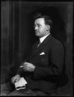Herbert Stanley Morrison, Baron Morrison of Lambeth, by Bassano Ltd, 10 December 1930 - NPG x124995 - © National Portrait Gallery, London
