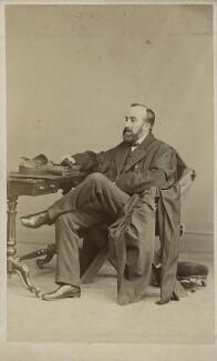 Sir Monier Monier-Williams, by Hills & Saunders - NPG Ax18290