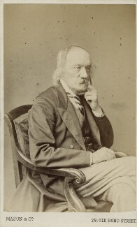 Sir Richard Owen, by Mason & Co (Robert Hindry Mason) - NPG Ax18299
