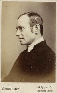 Richard Meux Benson, by Samuel Alexander Walker - NPG Ax18300