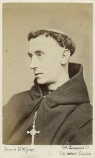 Father Ignatius (Joseph Leycester Lyne), by Samuel Alexander Walker, 1870s - NPG Ax18302 - © National Portrait Gallery, London