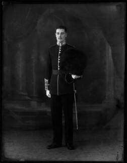 Hon. John Patrick Bowes-Lyon, by Bassano Ltd - NPG x150016