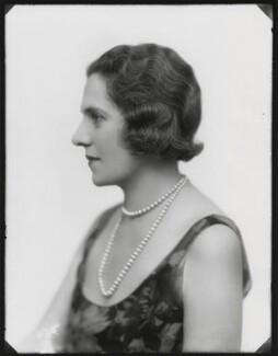 Roberte Ponsonby (née Neuflize), Countess Bessborough, by Bassano Ltd - NPG x150019