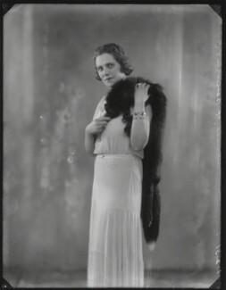 Roberte Ponsonby (née Neuflize), Countess Bessborough, by Bassano Ltd - NPG x150026