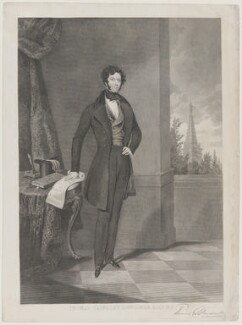 Thomas Slingsby Duncombe, by George Stodart, after  James Warren Childe, 1842 - NPG  - © National Portrait Gallery, London