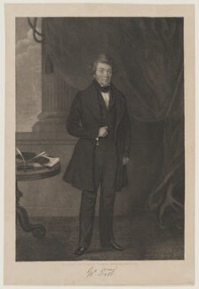 John Frost, by William Read, after  Unknown artist, 1839 - NPG D21603 - © National Portrait Gallery, London