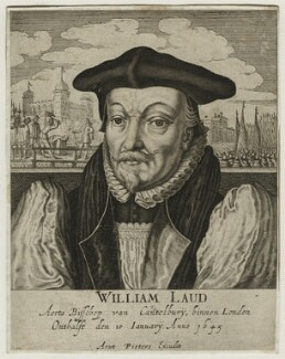 William Laud, published by Arent Pietersen - NPG D21586