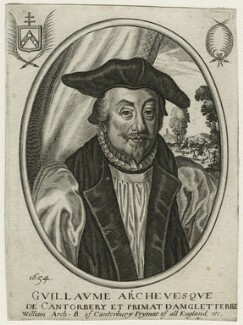 William Laud, by Unknown engraver - NPG D21583