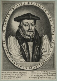 William Laud, published by Claes Jansz Visscher - NPG D21588