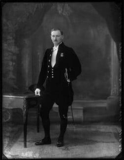 Hon. Bryan Longley Bourke, by Bassano Ltd - NPG x150043