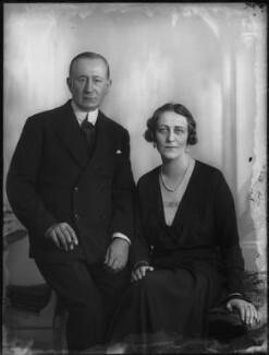 Guglielmo Marconi; Marchesa Maria Cristina Marconi (née Bezzi-Scali), by Bassano Ltd - NPG x150062
