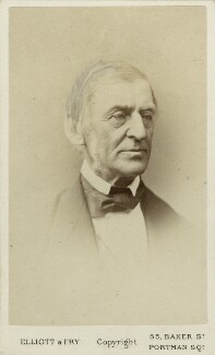 Ralph Waldo Emerson, by Elliott & Fry - NPG Ax18267