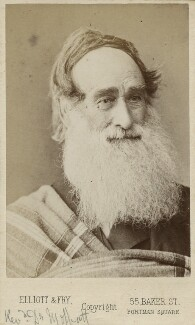 Robert Moffat, by Elliott & Fry, 1860s - NPG Ax18271 - © National Portrait Gallery, London
