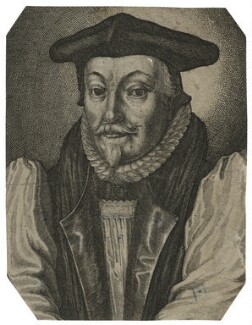 William Laud, probably by Wenceslaus Hollar - NPG D21587