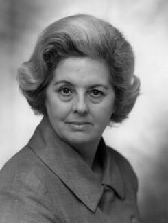 Betty Boothroyd, Baroness Boothroyd, by Bassano Ltd - NPG x172475