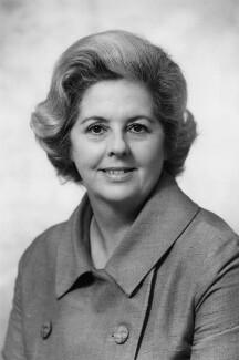 Betty Boothroyd, Baroness Boothroyd, by Bassano Ltd - NPG x172477
