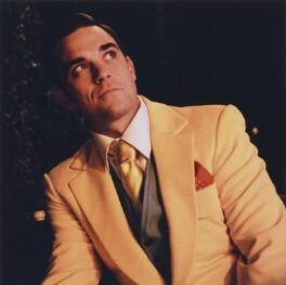 Robbie Williams, by Fergus Greer, 2005 - NPG x128185 - © Fergus Greer