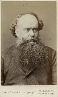 (Myles) Birket Foster, by Elliott & Fry, early 1870s - NPG Ax18322 - © National Portrait Gallery, London